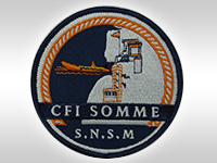 Fabrication écusson SNSM CFI SOMME