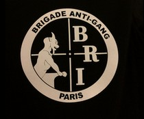 tee-shirt brigade anti-gang, BRI Paris